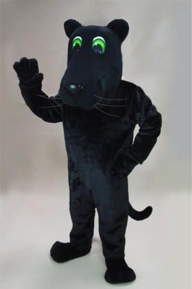 Cartoon Panther Mascot Costume