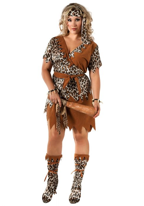 Cavewoman Plus Size Costume