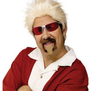 Celebrity Chef Wig and Goatee Set