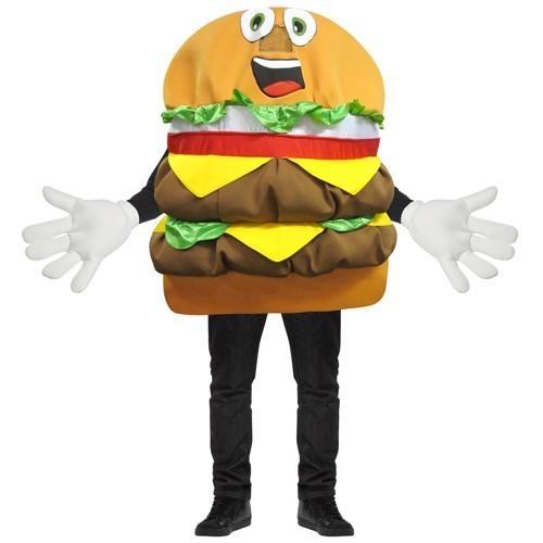 Cheeseburger Mascot