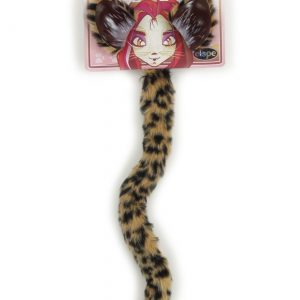 Cheetah Cat and Ears Tail Set