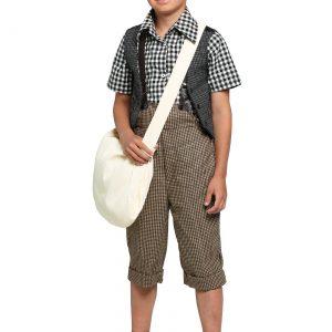 Child 20s Newsie Costume
