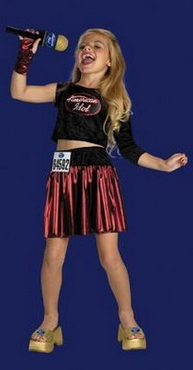 Child American Idol costume<br>New Orleans Audition