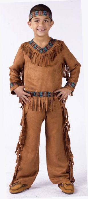 Child American Indian Boy Costume