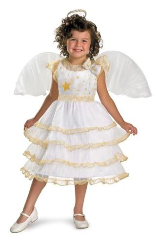 Child Angel Costume - Angel Belle