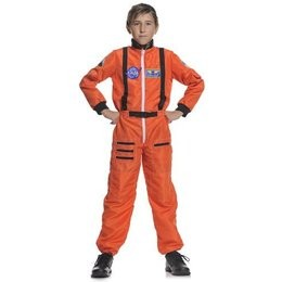 Child Astronaut Costume - Orange