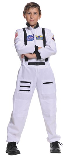 Child Astronaut Costume - White