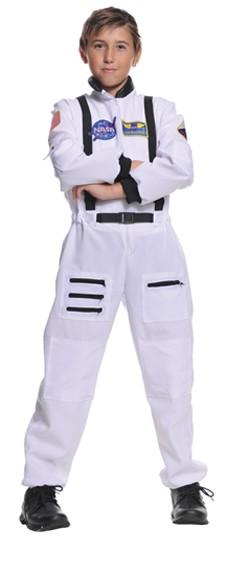Child Astronaut Costume - White