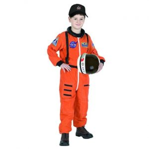 Child Astronaut Costume with Cap