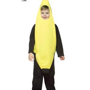Child Banana Costume - Lightweight 4-6X