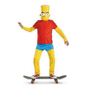 Child Bart Simpson Costume