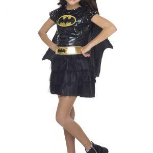 Child Batgirl Sequined Costume