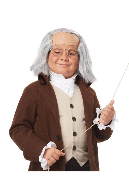Child Benjamin Franklin Wig
