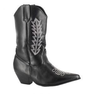 Child Black Cowboy Boots