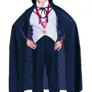 Child Black Dracula Cape