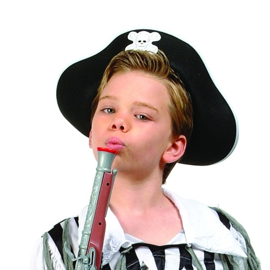 Child Black Pirate Hat