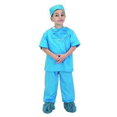 Child Blue Doctor Scrubs Costume