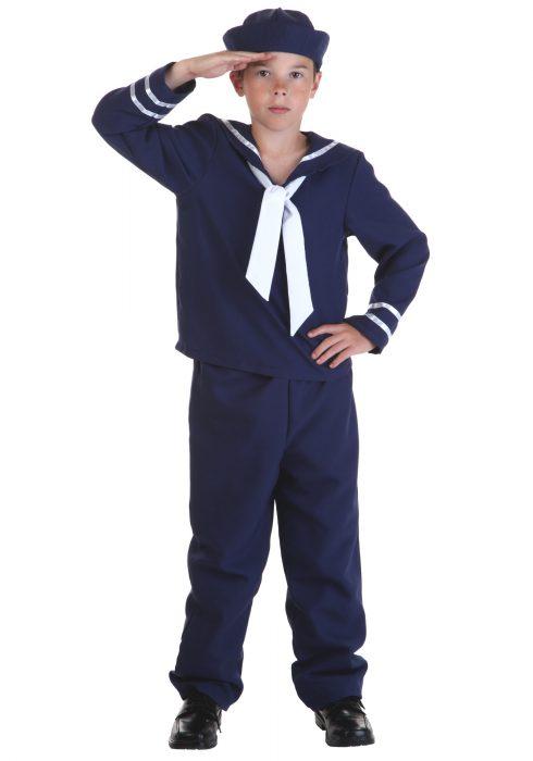 Child Blue Sailor Costume