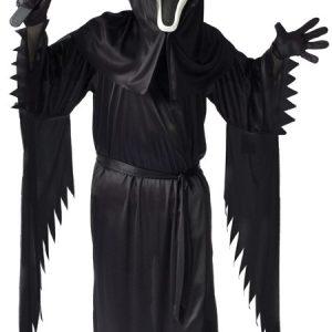 Child Bobble Head Ghost Face Costume