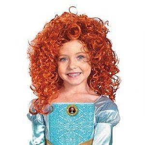 Child Brave Merida Wig