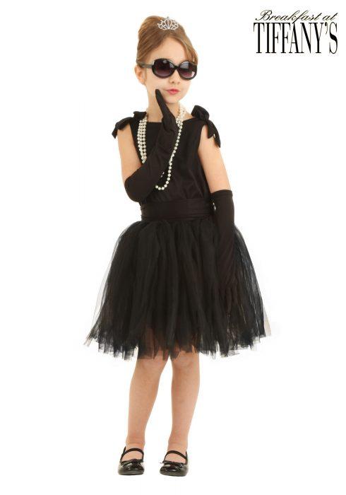 Child Breakfast at Tiffany's Holly Golightly Costume