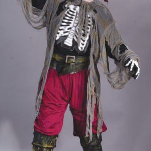 Child Buccaneer Bones Dead Sailor Costume