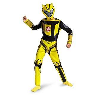 Child Bumblebee Transformers Costume