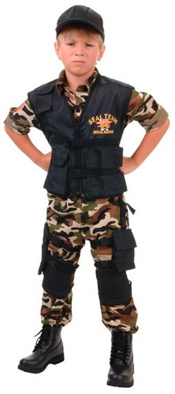 Child Camo Jumpsuit