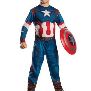Child Captain America Avengers 2 Costume
