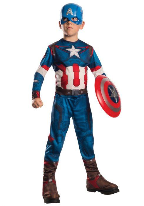 Child Captain America Avengers 2 Costume