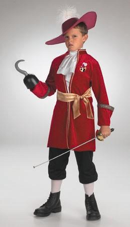 Child Captain Hook Costume