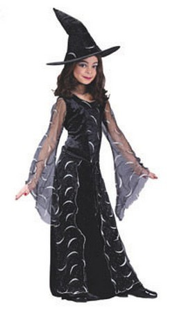 Child Celestial Sorceress Witch Costume