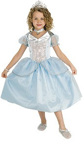 Child Cinderella Costume - 5 piece set