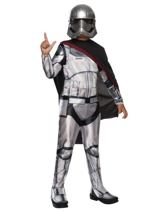 Child Classic Star Wars Force Awakens Captain Phasma Costume
