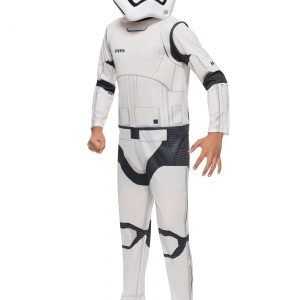 Child Classic Star Wars Force Awakens Stormtrooper Costume