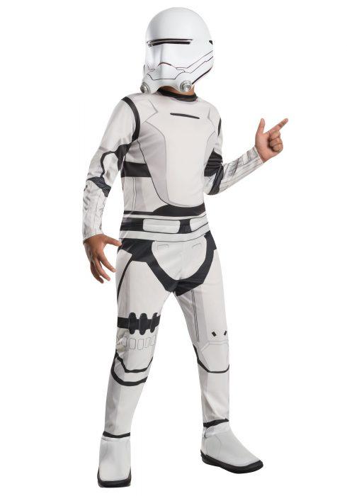 Child Classic Star Wars Force Awakes Flametrooper Costume
