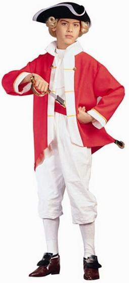 Child Colonial Captain Costume