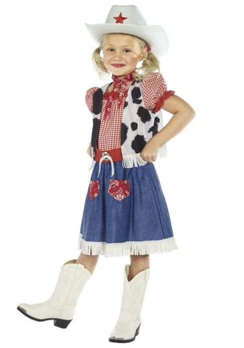 Child Cowgirl Sweetie Costume