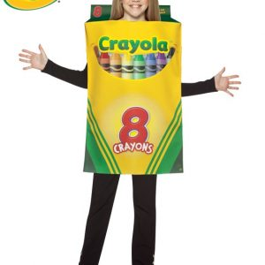 Child Crayola Crayon Box Costume - 7-10