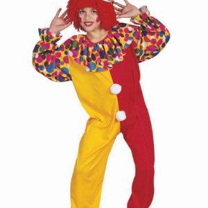 Child Deluxe Circus Clown Costume