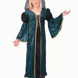 Child Deluxe Green Juliet Costume