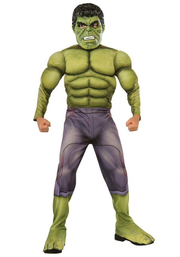 Child Deluxe Hulk Avengers 2 Costume