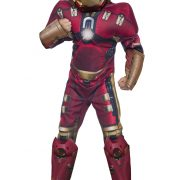Child Deluxe Hulk Buster Iron Man Costume