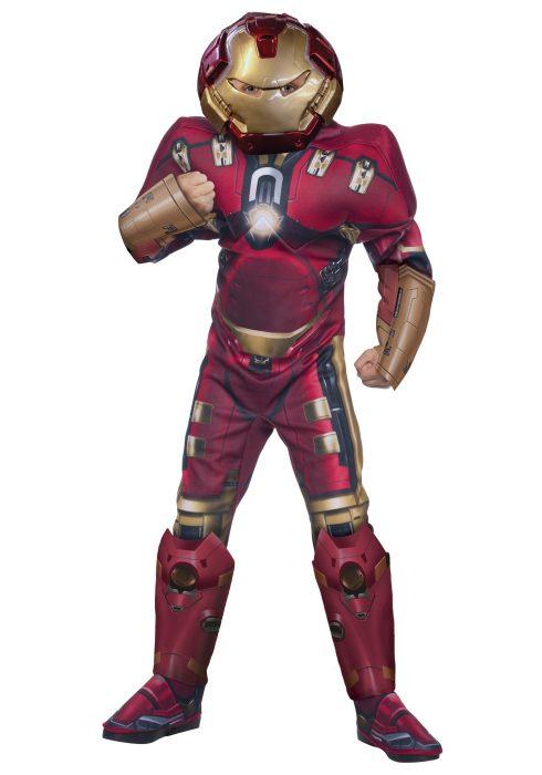 Child Deluxe Hulk Buster Iron Man Costume