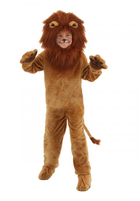 Child Deluxe Lion Costume