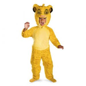 Child Deluxe Lion King Simba Costume