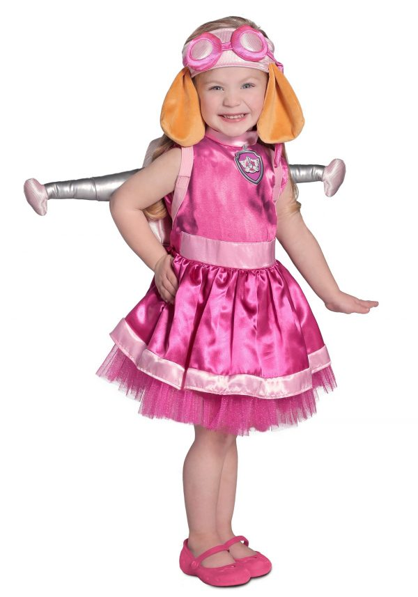Child Deluxe Paw Patrol Skye Costume