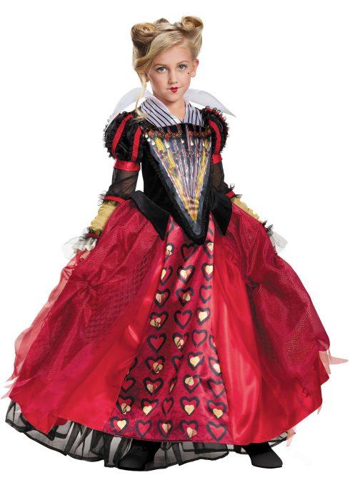 Child Deluxe Red Queen Costume