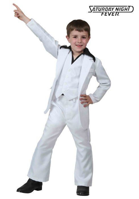 Child Deluxe Saturday Night Fever Costume