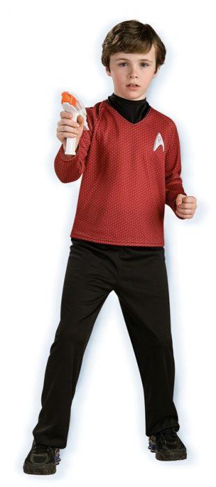 Child Deluxe Star Trek Costume - Red